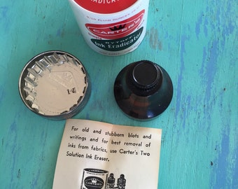 Vintage Carters ink Eradictor