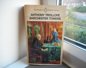 Barchester Towers by Anthony Trollope - Penguin English Library vintage paperback literature fiction classic 1857 vintage penguin books