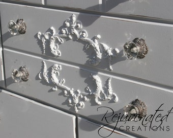wood appliques for furniture. shabby chic furniture appliques onlays mouldings diyappliques architectural pieces wood for