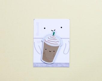 Iced Coffee Fridge Magnet