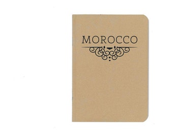 Morocco notebook - travel journal