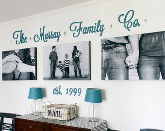 Custom Signs, Family Signs, Established Signs, Wall Signs