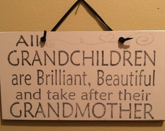 Grandchildren Take After Their Grandmother