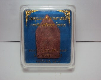 LP DEANG KUNPHAN And Case Talisman Amulet Charm temple Buddha Kunpan
