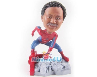 Spider man - personalized custom figurine handmade 3D doll (Free Shipping Worldwide)