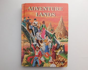 Charles E. Merrill Books Adventure Lands by Eleanor Johnson and Leland Jacobs