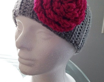 Fits most adults Crochet Ear Warmer Headband Handmade