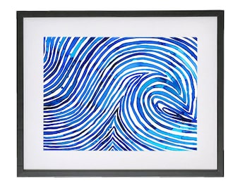 The Seven Seas Illustration Print