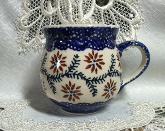 Polish Pottery Cup