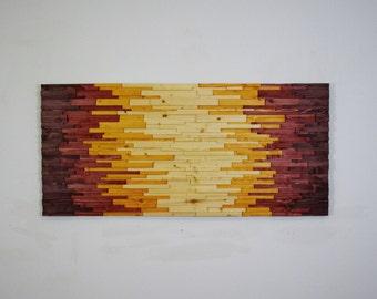 wood wall art gentrified wooden wall art wall, Home designs