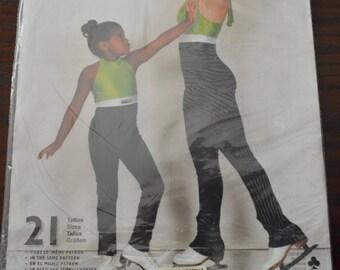 Jalie 991 Halter Tie Skating Unitard Sewing Pattern  21 Sizes