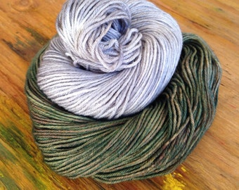 Sheeperine - Hand Dyed Sock Yarn