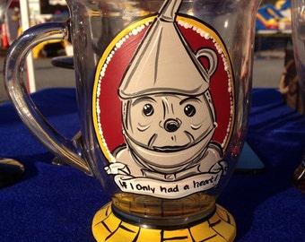 Tin Man Wizard of Oz Heart Yellow Brick Road Coffee Tea Mug