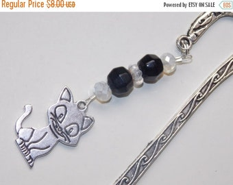 25%OFF Black Cat Bookmark