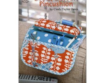 Sit & Stitch Pincushion Pattern by Cindy Taylor Oates. Free Shipping!