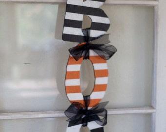 Boo Halloween Door Hanger