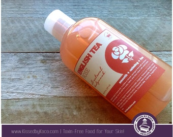 Soap, Handcrafted Body Wash: English Tea Rose