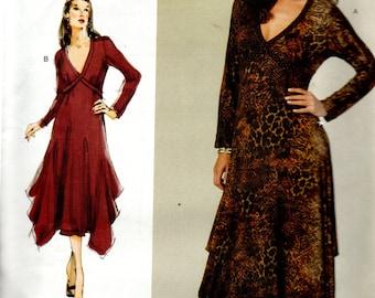 Vogue TODAY'S FIT Pattern by Sandra Betzina 1210 Knit DRESS Misses Sizes A thru J