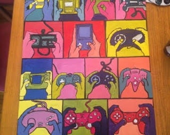Evolution of Gaming Painting