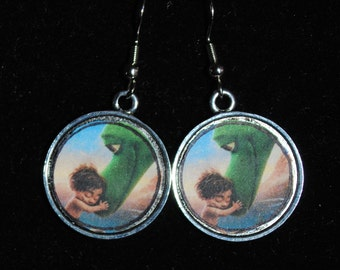 The Good Dinosaour Arlo and Spot Earrings