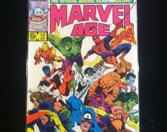 Marvel Comics Marvel Age 12 Comic Book Secrets Of The Secret Wars