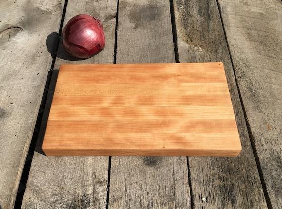 Cherry Wood Cutting Board-- Medium