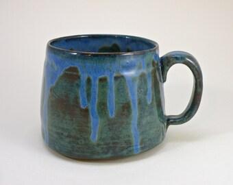 huge mug 28 oz mug  tea mug  beer mug Stoneware food safe lead free Glaze