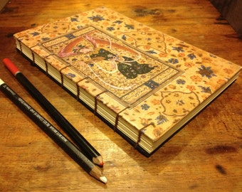 Persian Coptic Bound Journal Blank Book