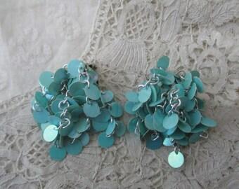 1950's earrings clip ons