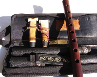 Armenian Professional Duduk Apricot Wood in Leather Case, Musical Instrument Doudouk Gift for him