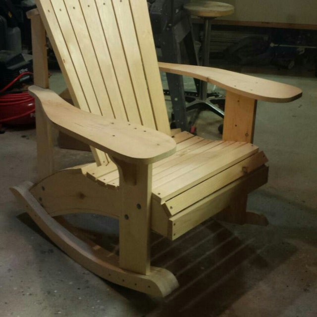 Adirondack Chair Plans By TheBarleyHarvest On Etsy