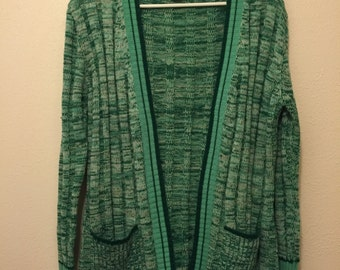Vintage Green Knit Sweater