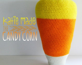 The Candy Corn Pillow
