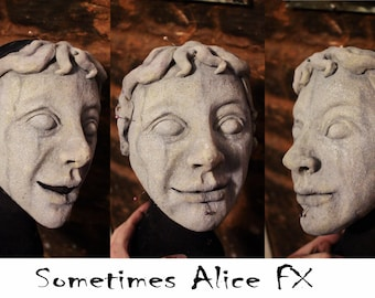 Weeping Angel Doctor Who Style Stone Angel Costume Mask