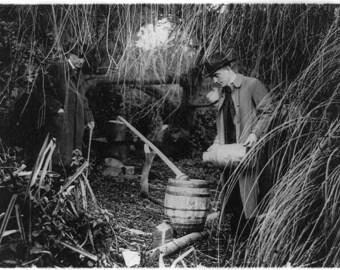 Dismantling a Still in 1920s -Prohibition Era -  Photo Print
