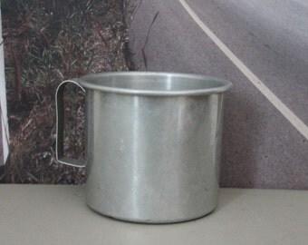 Aluminum Camping Cup c1970s