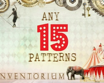 Choose ANY 15 patterns