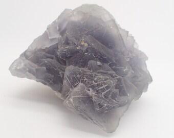 Blue Fluorite Cluster    Baluchistan, Pakistan