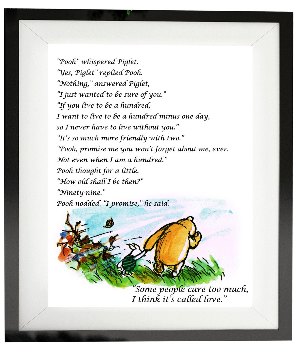 Winnie The Pooh Quote If Ever There Is A Tomorrow: Winnie The Pooh Wedding Love Quotes 'If There Ever Comes