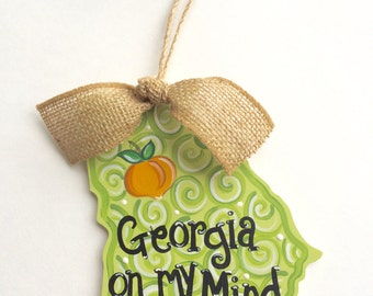 Georgia On My Mind Ornament