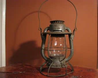 Vintage Dietz Vesta New York Central Railroad Lantern