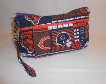 Chicago Bears Diaper Clutch with Changing Pad