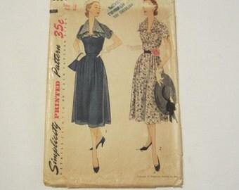 1951 Simplicity Printed Pattern 3554