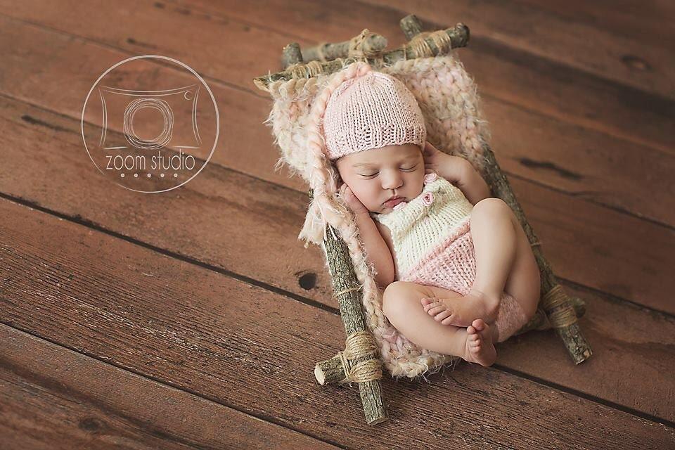 ensemble bonnet pixie lutin rose couverture nouveau n rose. Black Bedroom Furniture Sets. Home Design Ideas