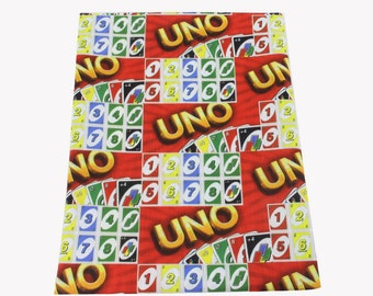 UNO game  fabric