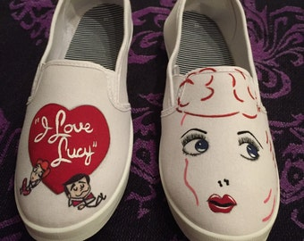 I Love Lucy Shoes