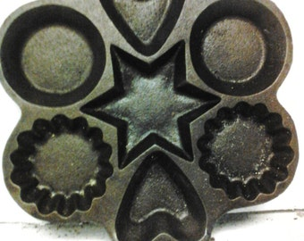 Cast iron muffin pan