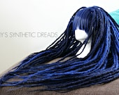 Dread wig / READY TO SHIP / long natural synthetic dreads / dread extensions