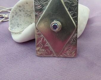 Sterling Silver Pendant.  (19)