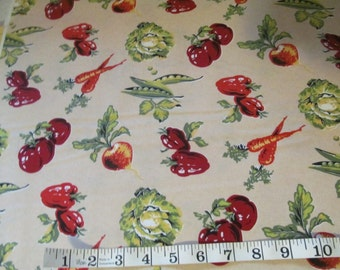 End of Bolt Sale! Coleslaw by Wilmington Prints 1.87 Yards #543